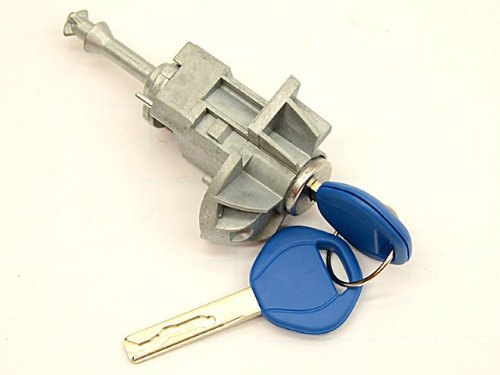 (BMW E 46 ( 01-06) Door Lock Cylinder + Keys LEFT new GENUINE)