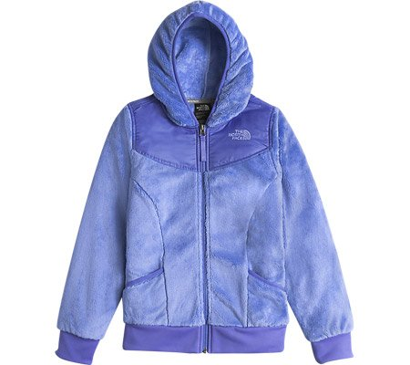 The North Face Oso Hoodie Girls Midlayer - Medium/Grapemist Blue by The North Face