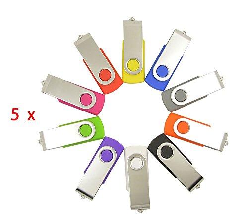 FEBNISCTE Swivel USB 2.0 Cheap Bulk 256MB (Not 256GB) Flash Disk Pendrive - Pack of 50 by FEBNISCTE