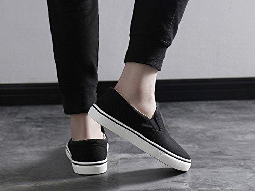 di casual Nero sono Scarpe estiva tela da WFL scarpe legati non vecchie scarpe traspirante pigri uomo uomo Pechino pedali da scarpe xIqw7dR6