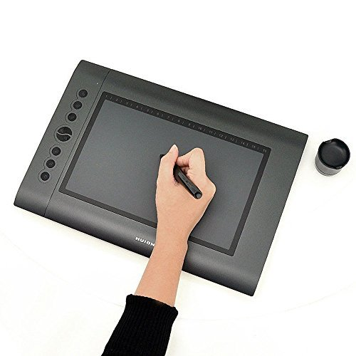 Image Huion H610 USB Professional Art Graphics Drawing Pa...