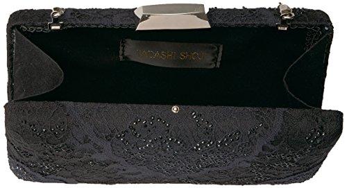 Tadashi Tadashi Shoji Leverett Black Clutch Shoji 400rvwn5