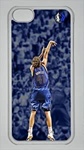 Dirk Nowitzki Dallas Mavericks #41 NBA Sports Custom PC Transparent Case for iPhone 6 plus 5.5 by icasepersonalized