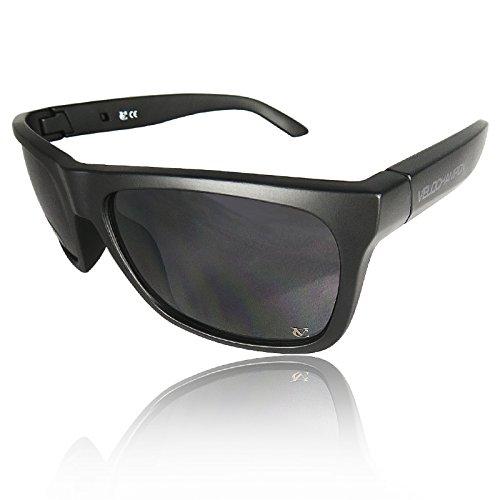 VeloChampion Milan Casual Sunglasses Matt Black / Smoke - Sunglasses Milan