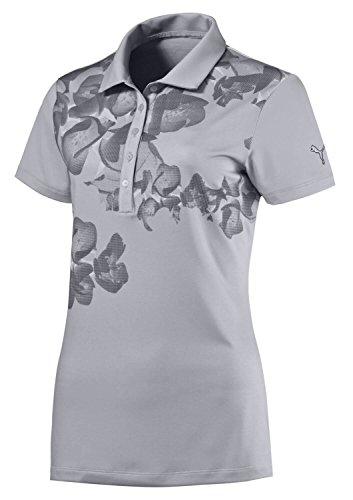 PUMA Bloom Golf Polo 2016 Ladies Glacier Grey Large