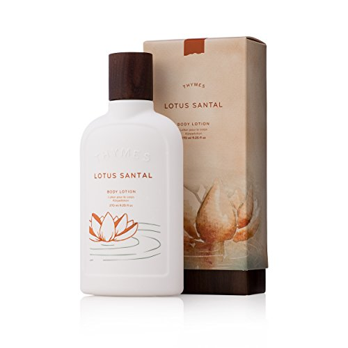 Thymes - Lotus Santal Body Lotion - Moisturizing Shea Butter with Warm Sandalwood Scent - 9.25 oz