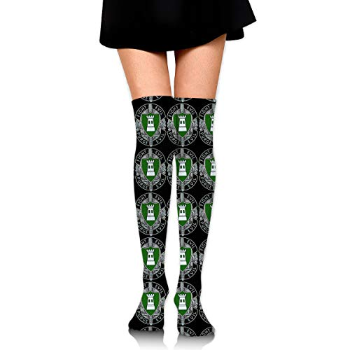 Tube Allied (Allied Forces North (AFNORTH) Battalion Womens Over Knee Thigh High Socks Stockings Knee High Tube Sock)