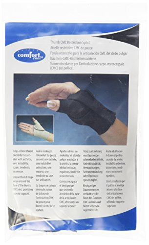 North Coast Medical Comfort Cool Thumb CMC Restriction Splint - Left, Medium - Model NC79564 - Each