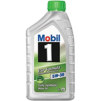 mobil 1 121218 0w 30 esp motor oil 1 quart. Black Bedroom Furniture Sets. Home Design Ideas