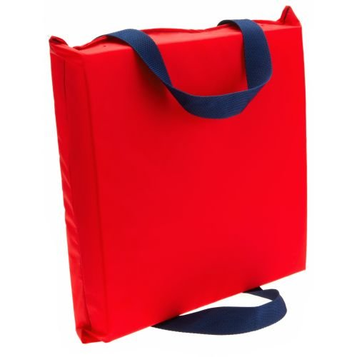 Mad Dog USCG Approved Type IV Throwable Foam Flotation Boat Cushion (Red) ()