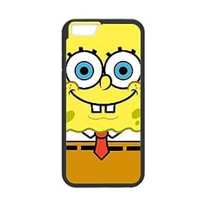 iPhone6 Plus 5.5 inch Cell Phone Case Black Sponge Bob AFK343164