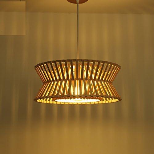 ZHOUYANLámpara de mesa de comedor creativa de la lámpara de bambú ...