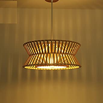 Zhouyankreative Rustikale Artlampen Der Bambuslampen Des Japanischen