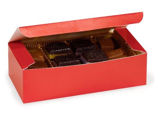 1 Lb Unit (1 lb. RED Candy Boxes7 x 3-3/8 x 2