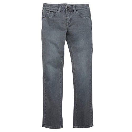 Volcom Big Boys 2x4 Denim Pants, Grey Vintage, 24
