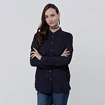 Lee Cooper Shirts For Women, Navy L