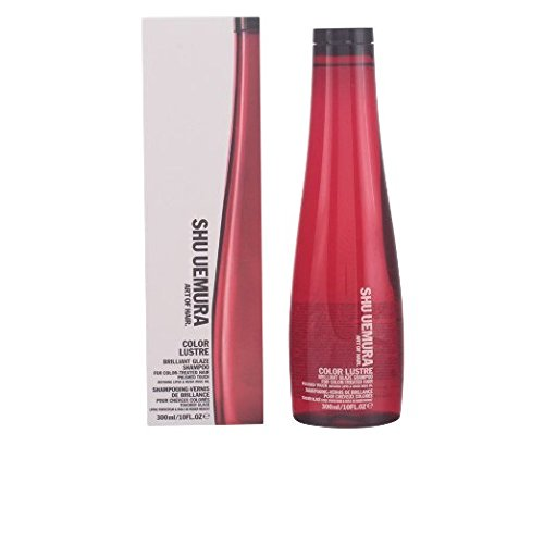 Shu Uemura Color Lustre Brilliant Glaze Shampoo for Unisex, 10 Ounce