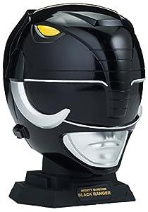 Power Rangers Legacy Mighty Morphin Helmet Display Set, Black Ranger
