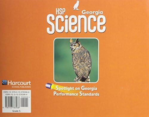 Buy HSP Georgia Science Interactive Text Grade 5 Spotlight