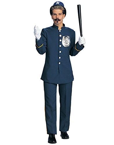 Rubie's Deluxe Keystone Kop Adult Costume Navy