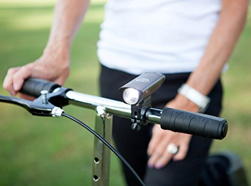 New KneeRover Deluxe Super Bright LED Safety Headlight with Batteries for Knee Walkers Knee Scooters Rollators by KneeRover (Image #2)
