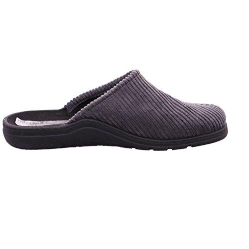 Quick-Schuh Herren-Pantoletten mit Kaltfut Grau