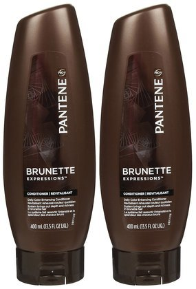 pantene-brunette-expressions-daily-color-enhancing-conditioner-135-oz-2-ct-quantity-of-4