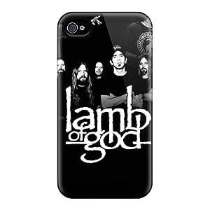 JasonPelletier Iphone 4/4s Bumper Hard Phone Case Custom Attractive Lamb Of God Pictures [qQD13529kPwx]