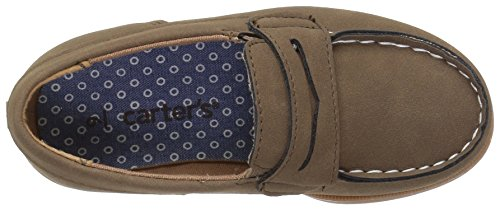 Pictures of Carter's Boys' Simon4 Slip-On Boat Brown 7 M US Toddler 2