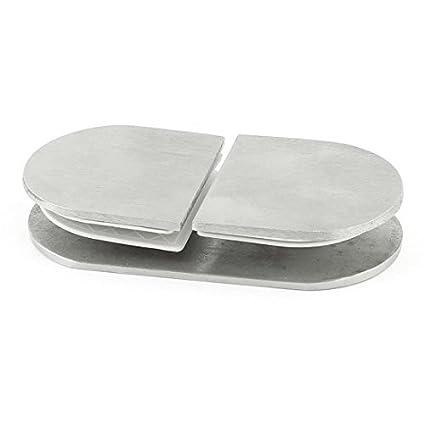 El tono de plata del acero inoxidable de 8 mm de espesor de ...