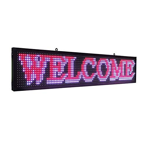 Style; In Imported From Abroad P5 Smd Led Display Panel Ios Wifi Programmable Scroll Message Shop Window Advertising Led Signage Business Fashionable