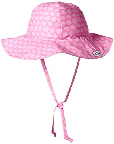 4190e3e5255 Flap Happy Girls' Toddler UPF 50+ Floppy Hat, Pink Splash, X-Large ...