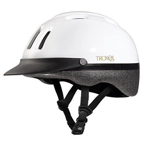 Troxel Sport Schooling Riding Safety Helmet SEI Certification Colors (White, Small) (Helmet Troxel Spirit Schooling)