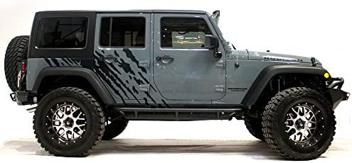FactoryCrafts Wrangler 2007 2016 4 Door Graphics product image