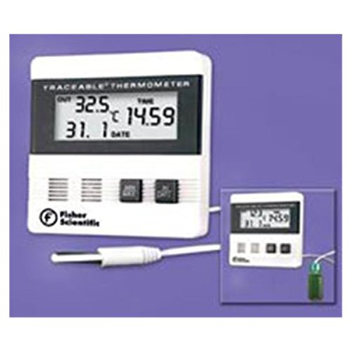 WP000-15-077-976 15-077-976 15-077-976 Thermometer Lab Traceable Fridge Dgt LCD Dual Wlmnt 6' Cbl Ea From Fisher Scientific Co.