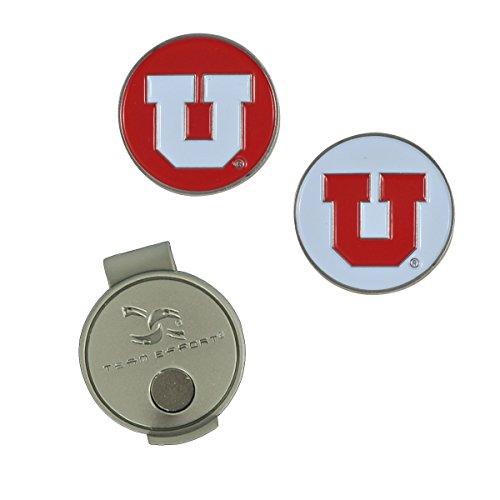 Team Effort Utah Utes Hat Clip & 2 Ball Markers