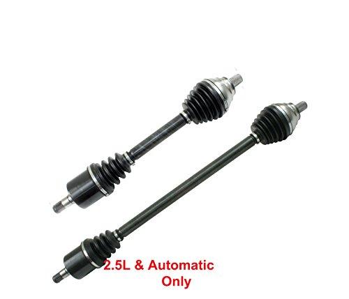 (DTA DT1267326741 Front Driver and Passenger Side Premium CV Axles (New Drive Axle Assemblies - 2 pcs (Pair)) Fits 2012-2014 VW Passat 2.5L Automatic)