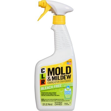 CLR Mold and Mildew Stain Remover, 32 Ounce (Pack of 3) (Without Bleach Remover Mildew)