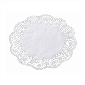 Paderno World Cuisine Pack of 250 4 Inch Paper Doilies