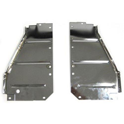 - Golden Star Auto CS13-56PC Radiator Support Pair Chrome Core Support Side Filler Panels Radiator Support