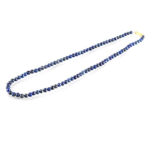 Aatm Gemstone Blue Necklace Stone for Enlightenment (Beads Size - ()