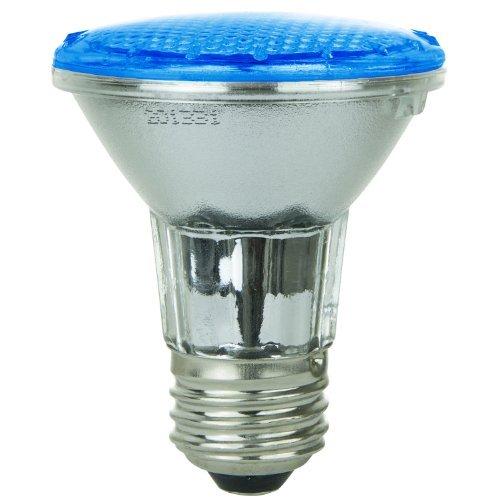 Sunlite 80001-SU PAR20/36LED/2W/B LED 120-volt 2-watt Medium Based PAR20 Lamp, Blue by Sunlite