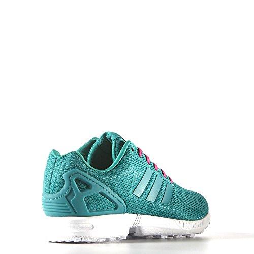 Adidas Femmes Zx Flux W Vert / Blanc S78972