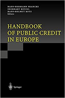 Handbook of Public Credit in Europe
