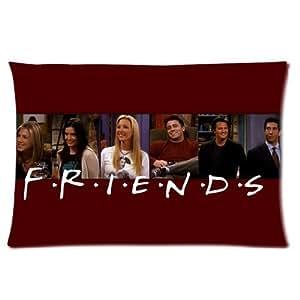 """Friends TV Show Merchandise Pillowcase Rectangle Pillow Cases Decorative Pillow Encasement 16""""x24 by ruishername"""