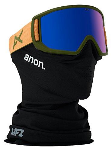 Anon Relapse Masque de snowboard Orange/Blue Cobalt
