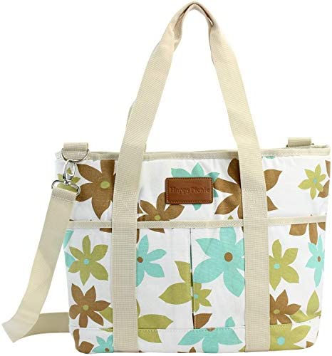 HappyPicnic 16L Large Insulated Bag, 25CAN Waterproof Cooler Carrier Bag, Thermal Picnic Tote, Lunch Bags for Outdoor Camping, Beach Day or Travel, Collapsible Grocery Shopping Storage Bag – Leaf