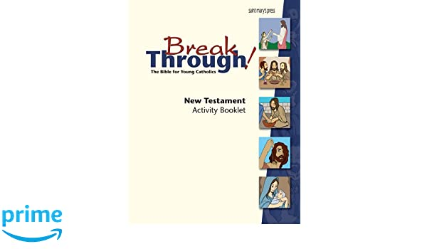 Workbook bible worksheets for middle school : Breakthrough Bible, New Testament Activity Booklet: Joanna Dailey ...