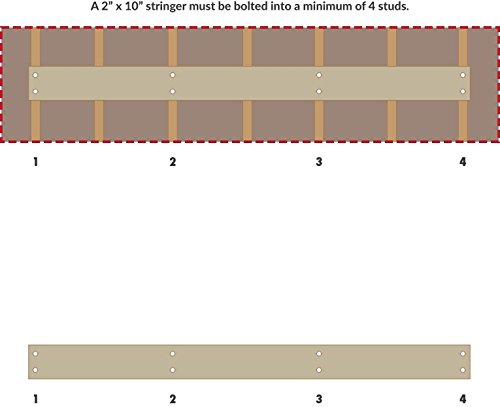 Xtreme Monkey Folding Power Rack Wall Mounted Rig Buy