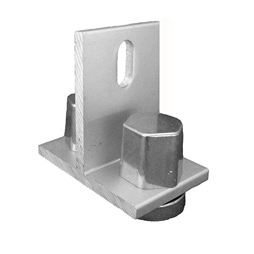 Sunmodo K10154-001 EZ Roof Mount Kit with T Foot, Metal (Pack of 10) by Sunmodo